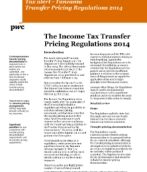 The Income Tax Transfer Pricing Regulations 2014