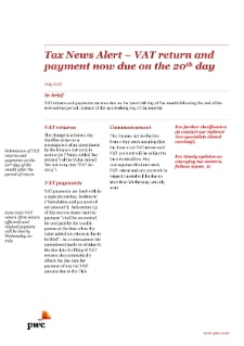 Tax and VAT Newsletters